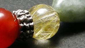 ルチルクオーツ(Rutile-quartz)