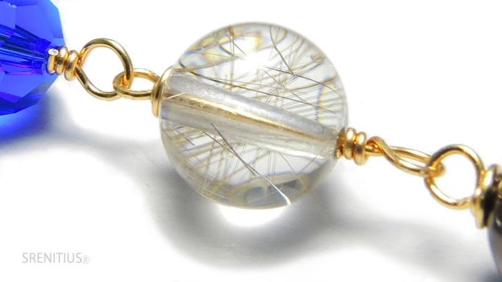 プラチナルチルクオーツ(Platina-rutile-quartz)